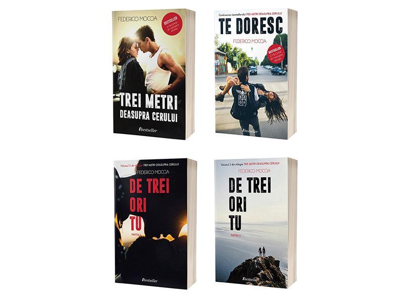 """Seria 4 cărți """"Trei metri"""": Mobile"""
