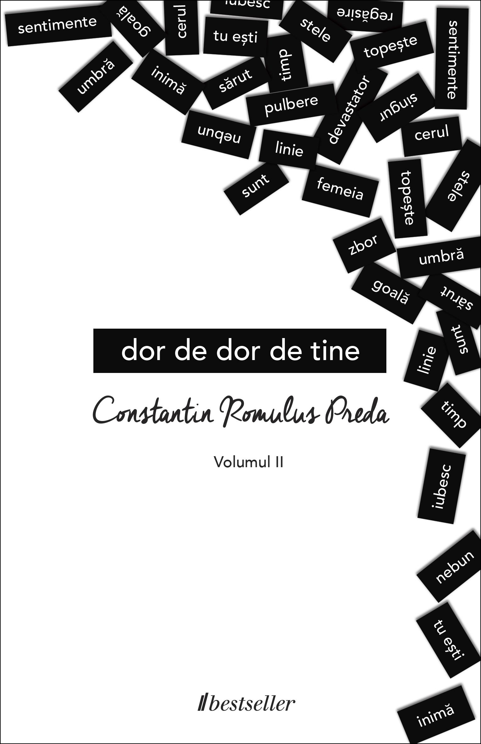 Dor De Dor De Tine. Volumul 2 imagine