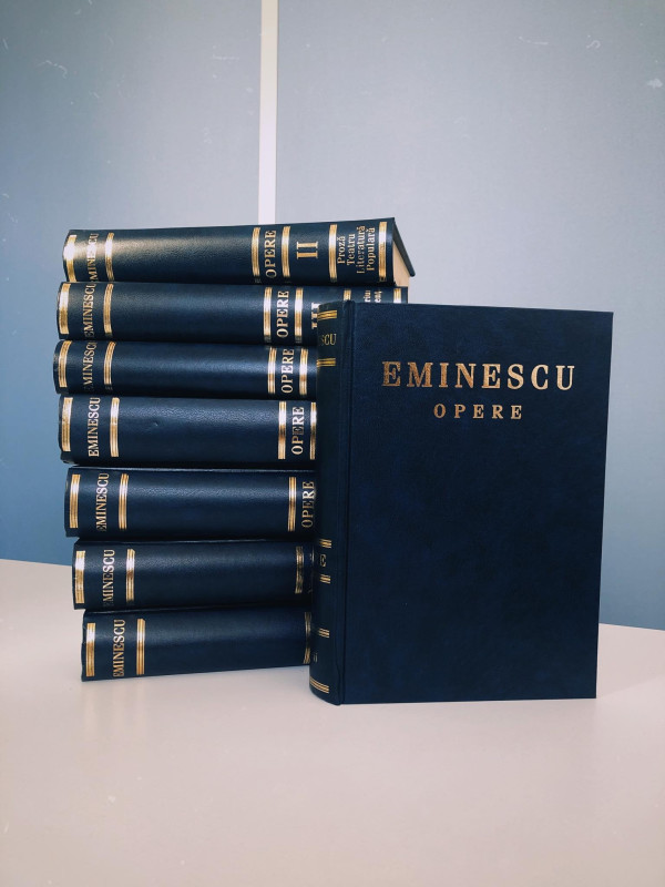 Opera Completă Mihai Eminescu în 8 volume