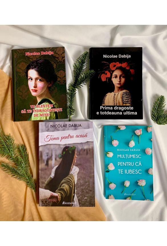 Pachet Promoțional 4 Cărți de Nicolae Dabija