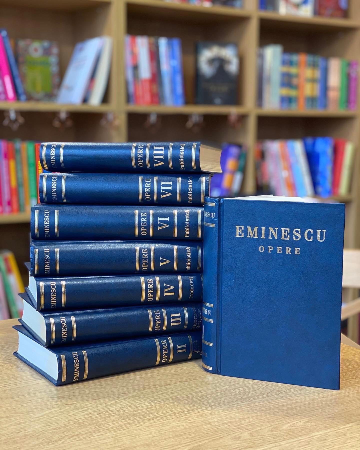 Opera Completă Mihai Eminescu În 8 Volume imagine