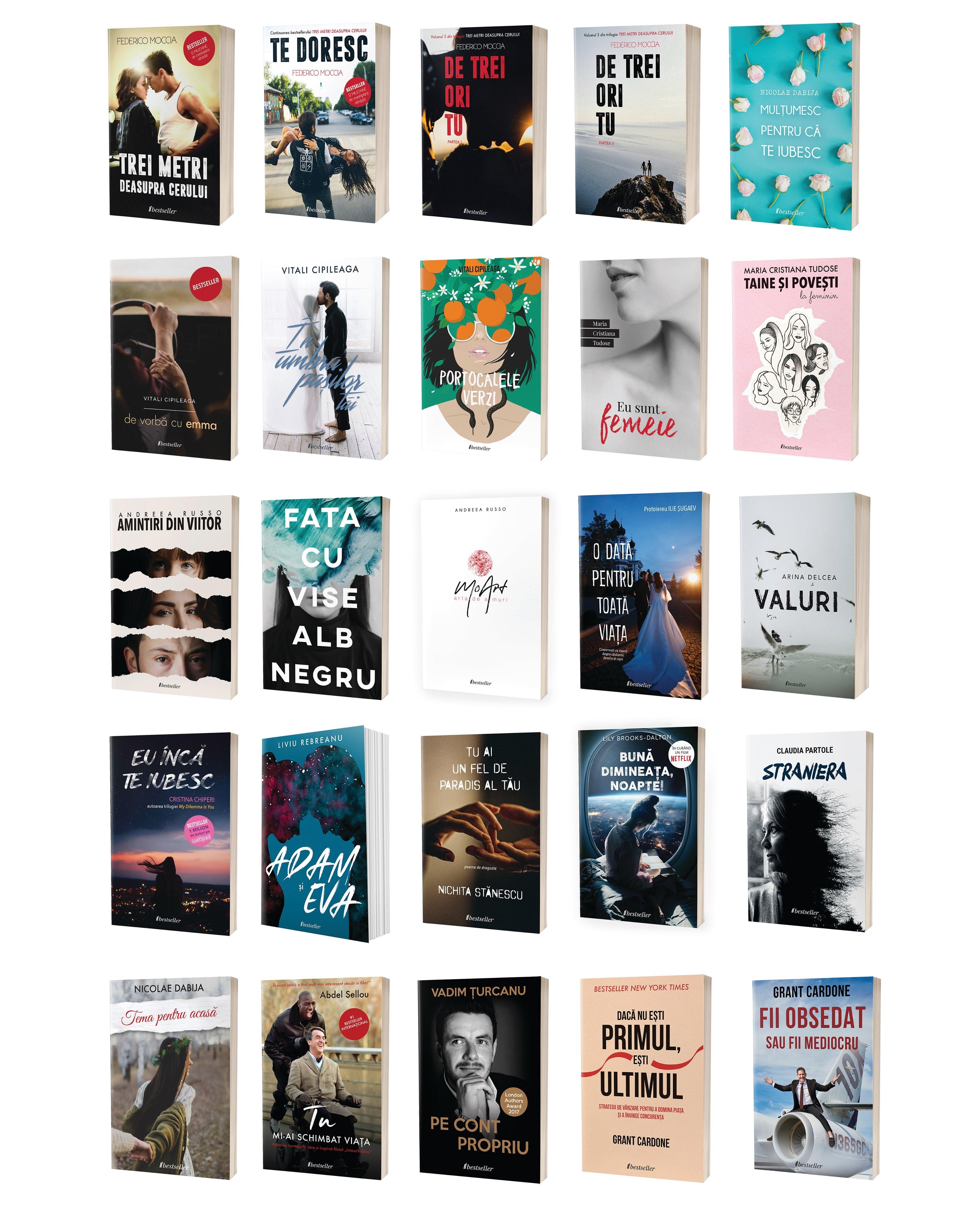 Colecția Bestseller De 25 Cărți imagine