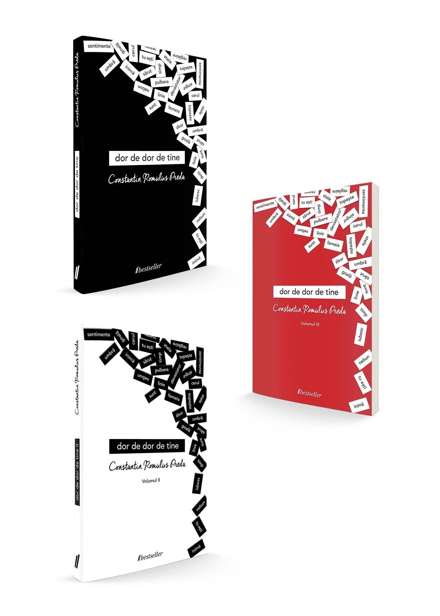 """Trilogia """"Dor De Dor De Tine"""" - Volumele 1, 2 Și 3 imagine"""