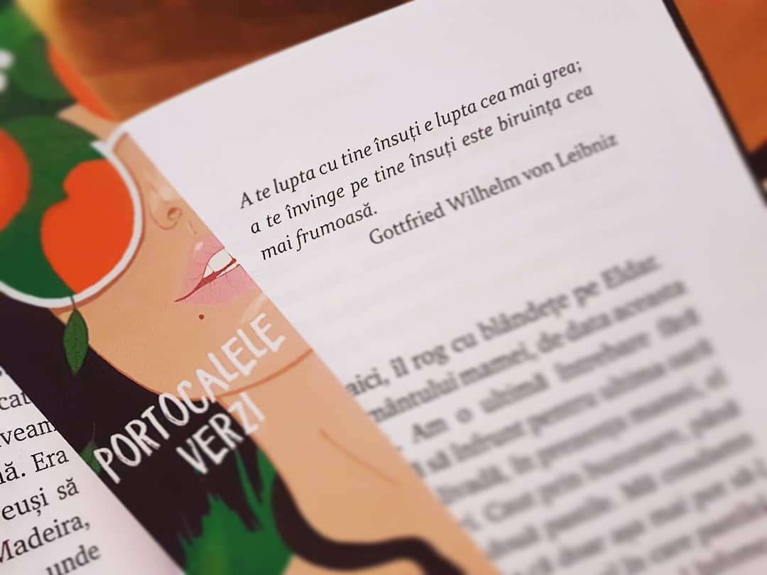 """Portocalele verzi"" de Vitali Cipileaga - Editura Bestseller"