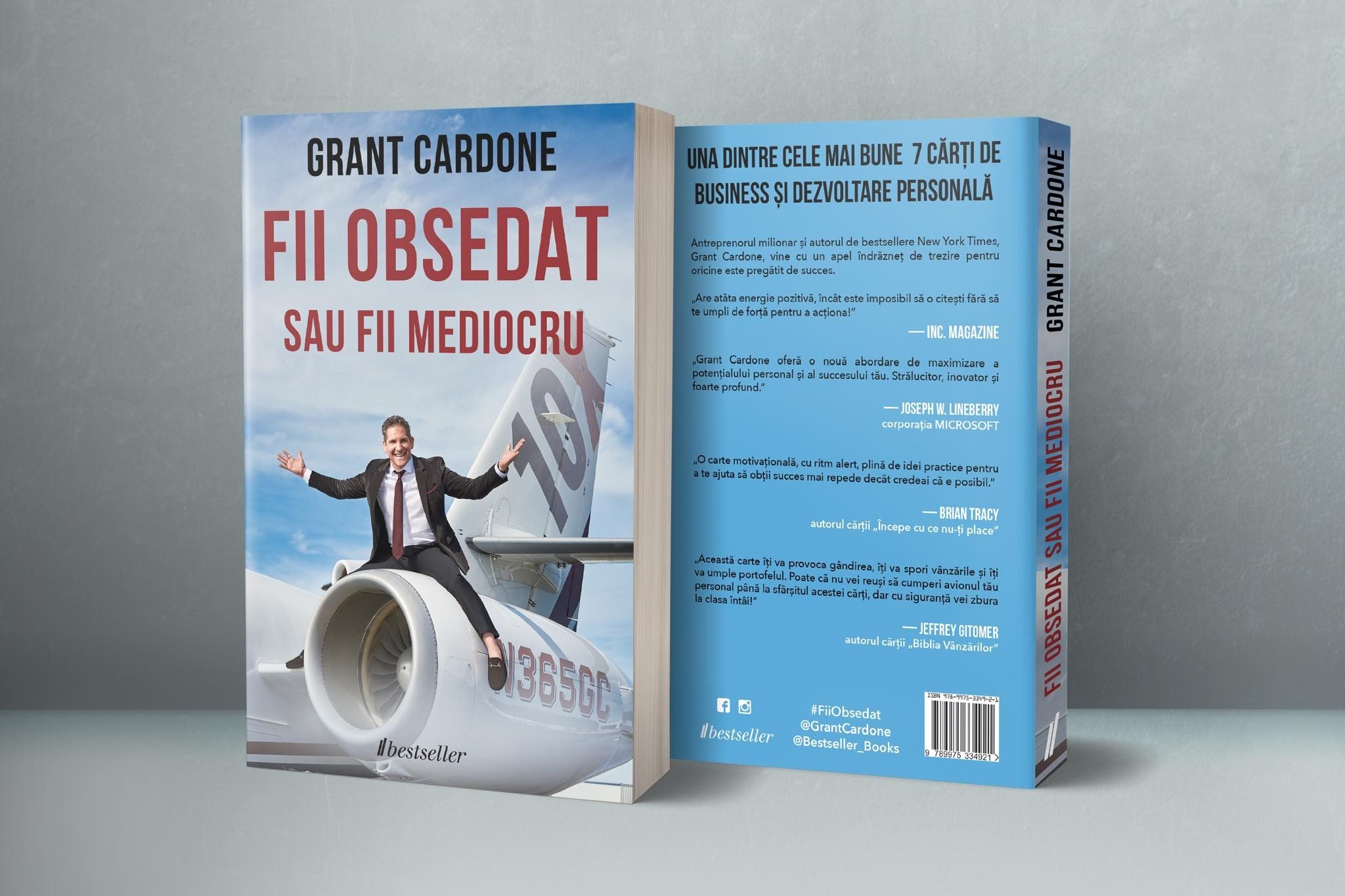 Fii Obsedat sau Fii Mediocru Grant Cardone Editura Bestseller 1
